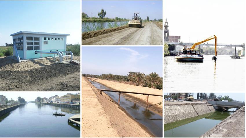 تطوير الخطة المتكاملة للموارد المائية