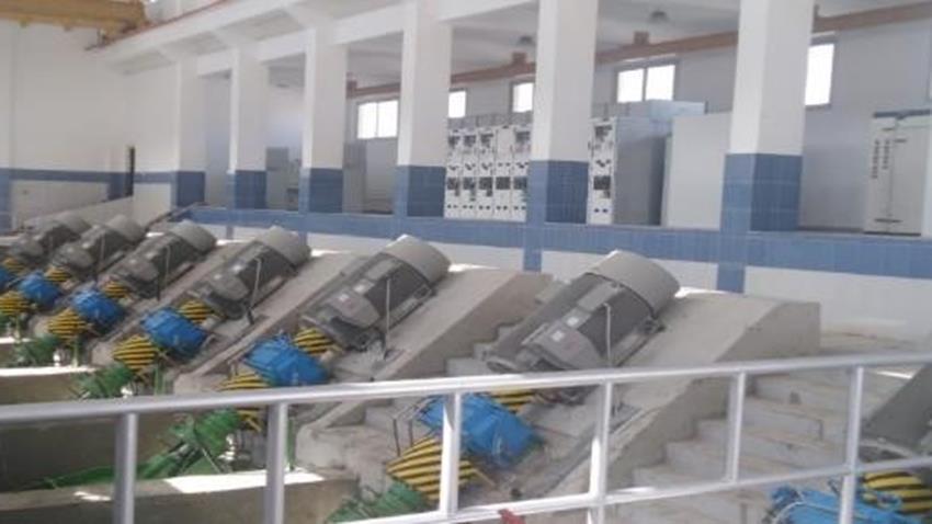 مشروعات الخطة العاجلة بغرب الدلتا لمواجهة أخطار السيول