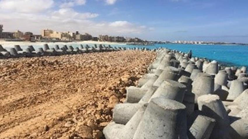 حماية وتطوير السواحل والشواطئ المصرية