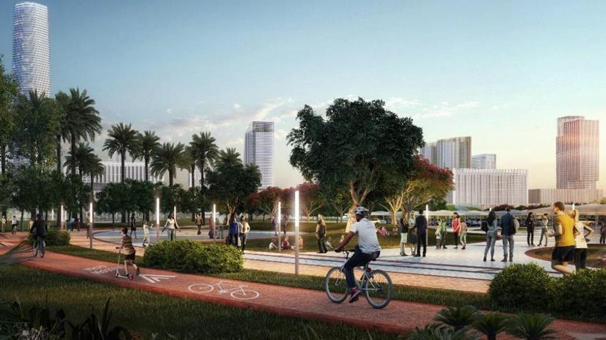 وضع حجر أساس المرحلة الأولى من العاصمة الإدارية الجديدة