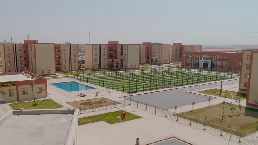 منطقة سكنية حضارية بمجمع انتاج الأسمدة الفوسفاتية والمركبة بالعين السخنة