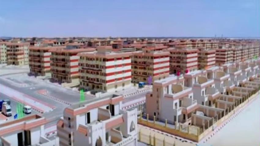 جاري تنفيذ التجمعات العمرانية بشرق بورسعيد
