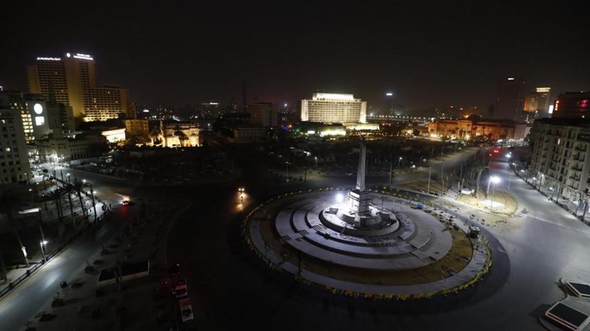 تطوير ميدان التحرير والإضاءة الخارجية للمتحف المصري بالتحرير