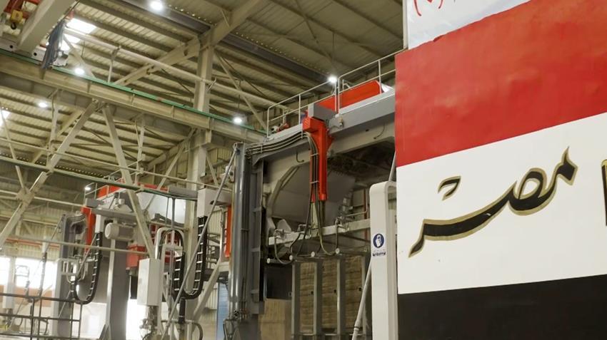 مصنع لإنتاج الرخام والجرانيت بالعين السخنة
