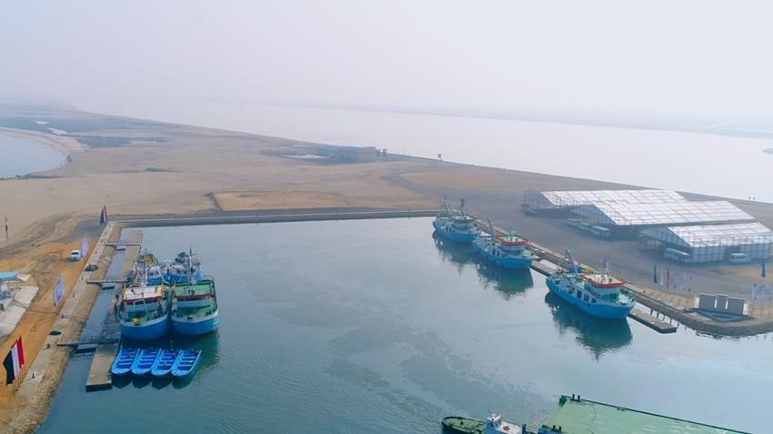 تدشين ٣٤ سفينة للصيد الحر بالمياه الإقليمية
