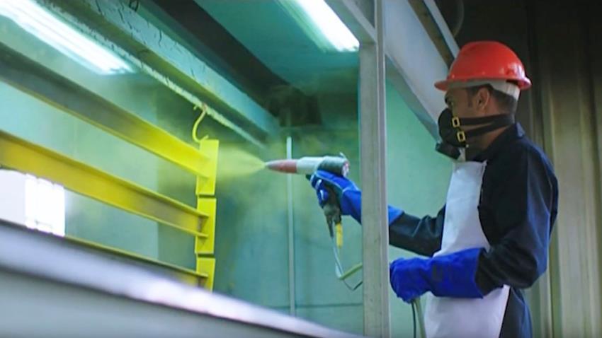 إنشاء ورش إصلاح وإنتاج المعدات الفنية وخط دهان الالكتروستيك