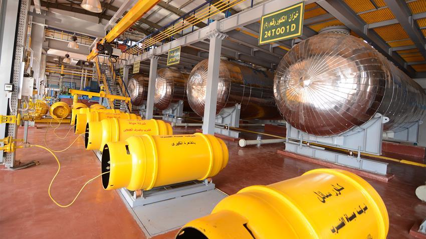 إنشاء مصنع فوق أكسيد الهيدروجين بأبو رواش بالجيزة