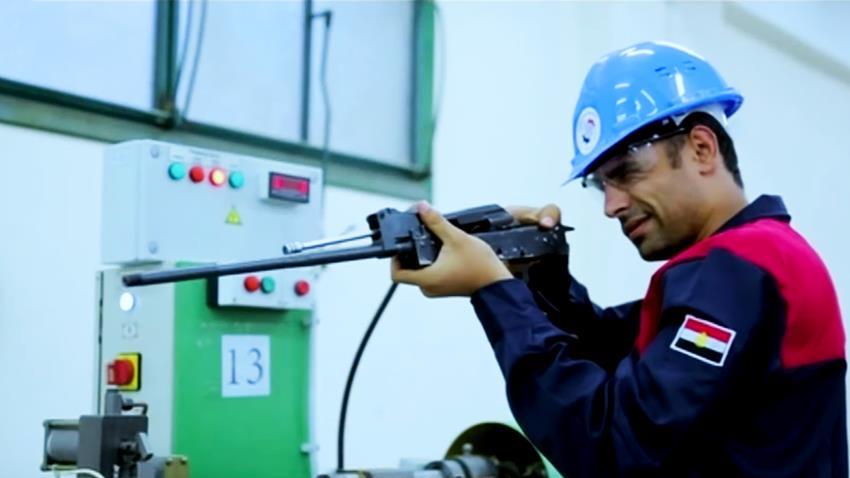 إنشاء مصنع إنتاج البنادق الآلية