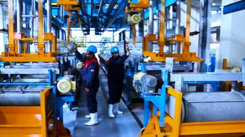 إنشاء مصنع تشكيل أجزاء معدنية للذخيرة المتوسطة
