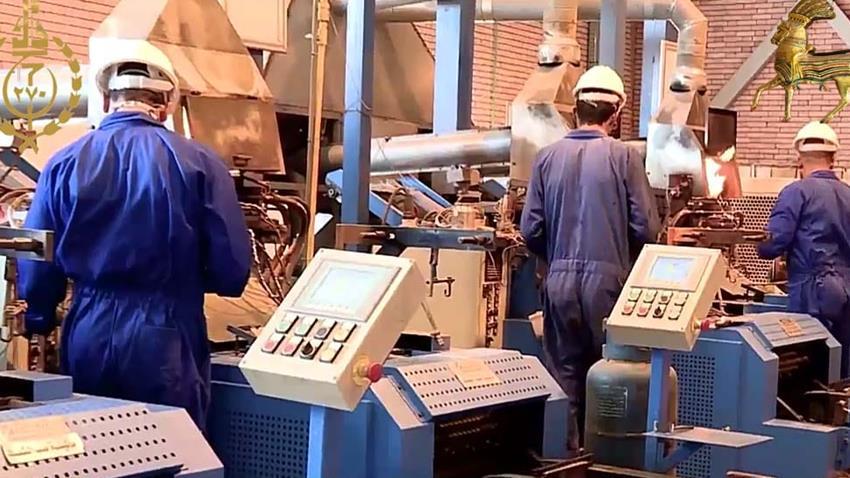 إنشاء مصنع إنتاج البطاريات بشركة قها للصناعات الكيماوية