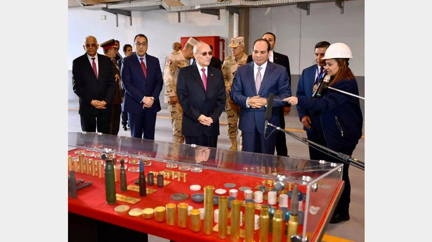 إنشاء مصنع ٣٠٠ الحربي بشركة أبو زعبل للصناعات المتخصصة