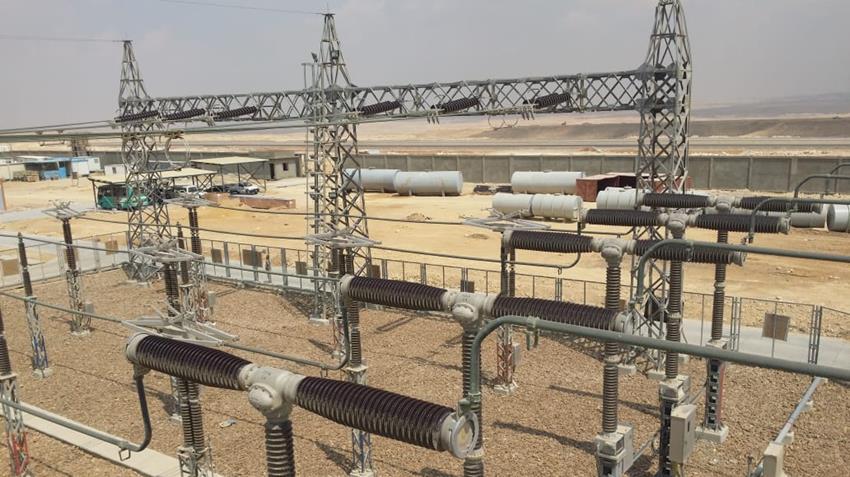 إنشاء محطة محولات زهراء المعادي