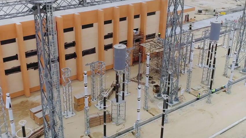 إنشاء محطة كهرباء الإسماعيلية الجديدة