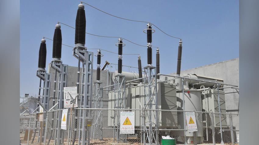 إنشاء محطة كهرباء مدينة دمياط للأثاث بمنطقة شطا