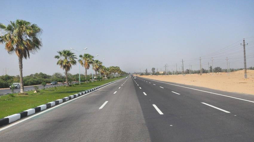 المرحلة الثانية من تطوير وتوسعة طريق القاهرة -الإسماعيلية الصحراوي