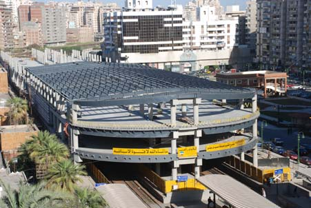 تطوير محطة سكة حديد سيدى جابر