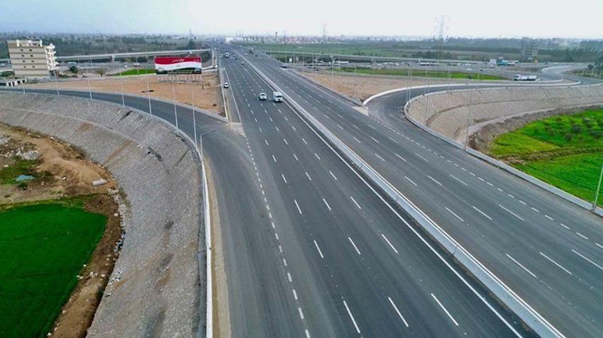 إنشاء طريق شبرا - بنها الحر