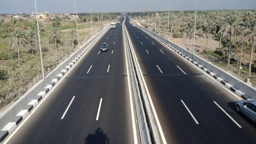 إنشاء كوبري بلطيم العلوي بمحافظة كفر الشيخ