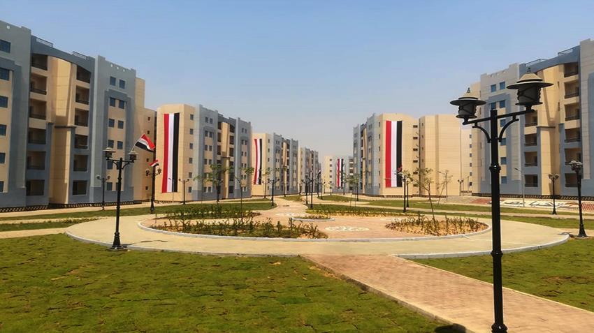 المرحلة الأولي من الإسكان الاجتماعي بالامتداد الشرقي لمدينة بدر