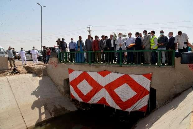 مشروع كوبرى الكيلو 149 العلوى منطقة الهويس محافظة أسيوط
