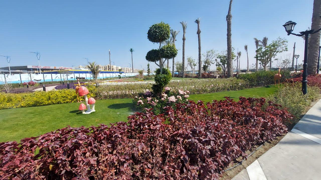 ميناء بورسعيد البري