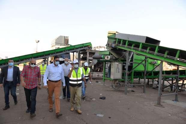 تطوير مصنع تدوير المخلفات بأجا - الدقهلية