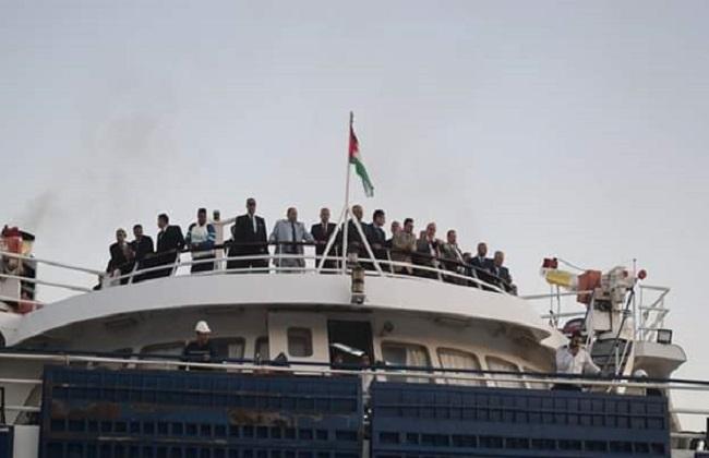 افتتاح الخط الملاحي شرم الشيخ - الغردقة