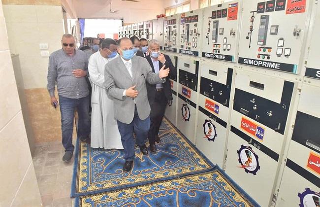 افتتاح لوحتي توزيع كهرباء