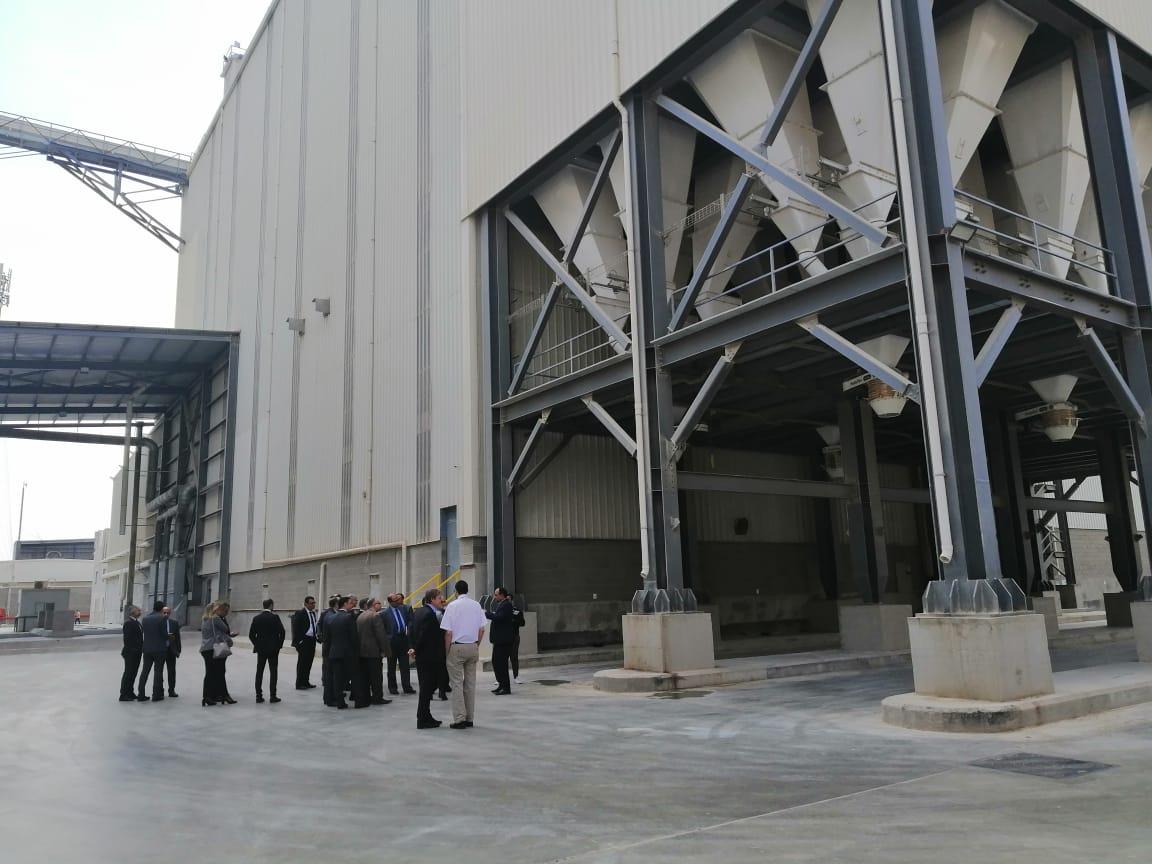 أكبر مصنع لإنتاج الأعلاف بالشرق الأوسط بالمنوفية