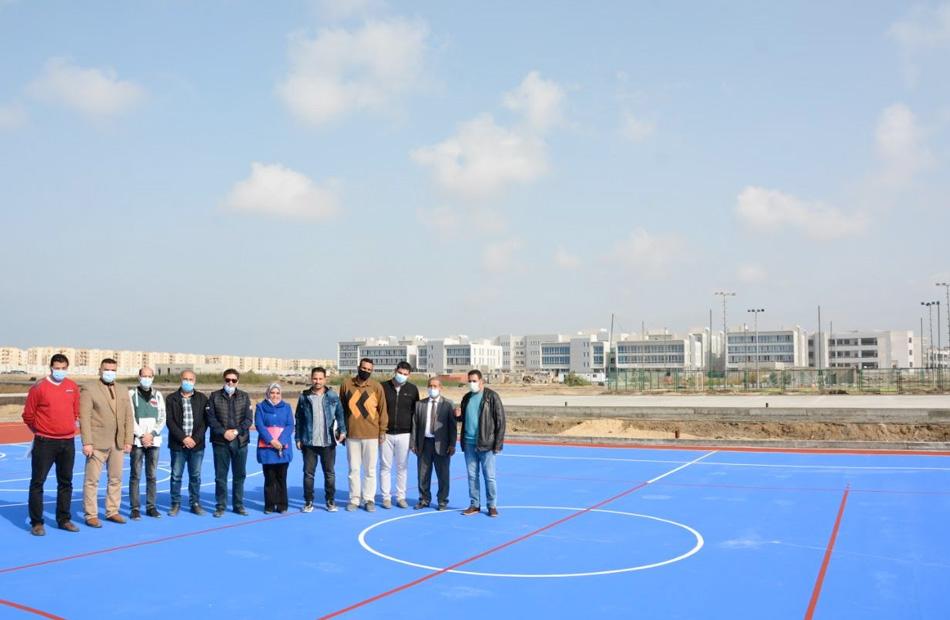 المدينة الأوليمبية الطلابية بجامعة دمياط