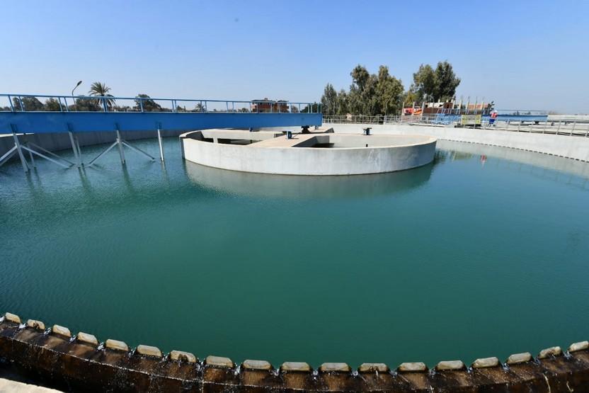 محطة مياه الحامول بمركز منوف