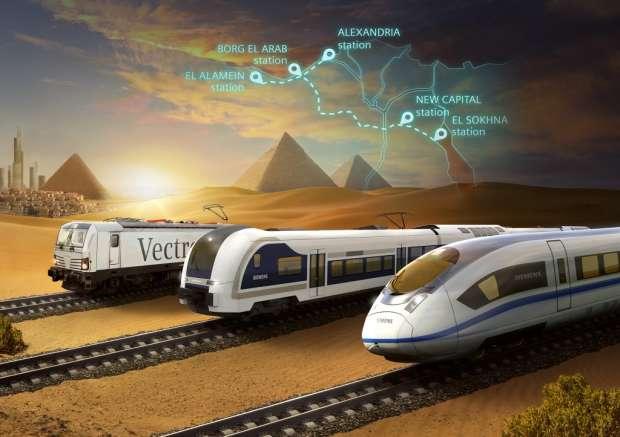 مشروع خط قطار فائق السرعة