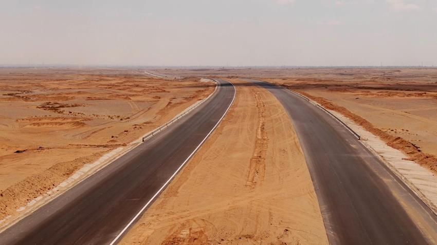 افتتاح طريق جنيفة