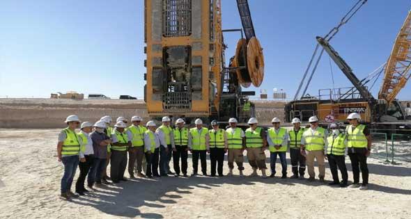 افتتاح التشغيل التجريبي لأول مركز آلى للتحكم بالكهرباء وتوزيع الطاقة بالقاهرة الجديدة