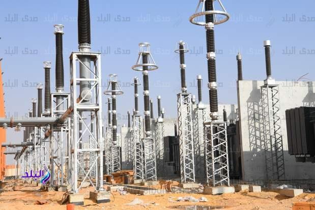محطة محولات كهرباء نجع حمادي الجديدة