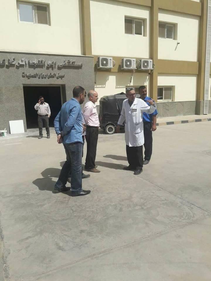 تطوير مستشفى أبو المنجا بشبرا الخيمة