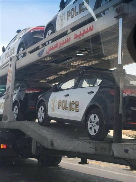 تطوير شامل لاسطول سيارات الشرطة المصرية