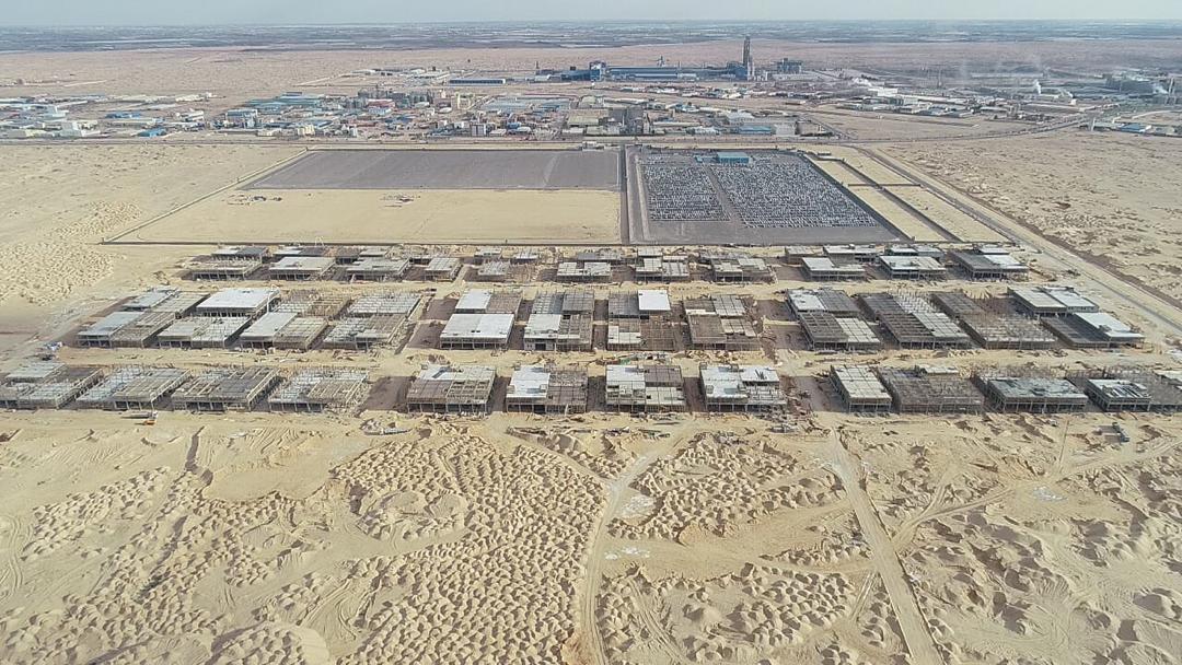مجمع الغزل والنسيج بمدينة السادات