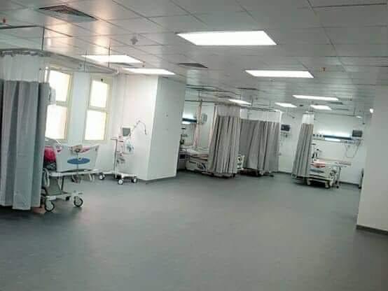 تطوير مستشفى العريش العام