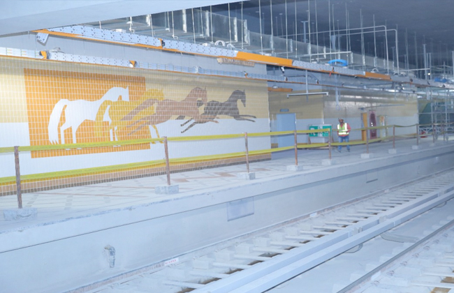 محطة مترو الالف مسكن