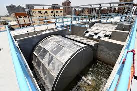 محطة مياه جزيرة الدهب