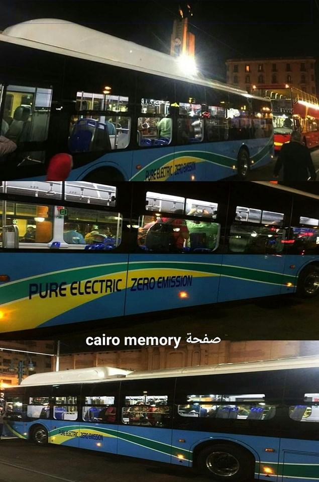 الأتوبيس الكهربائي بالإسكندرية