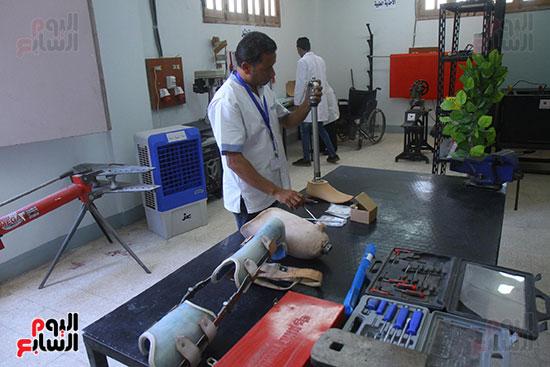 """مصنع """"إرادة"""" للأطراف الصناعية بمدينة العبور"""