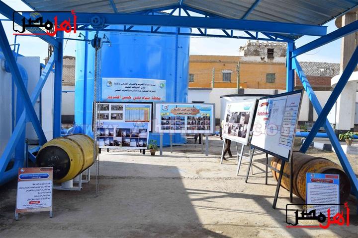 محطة مياه بني حسن الشروق