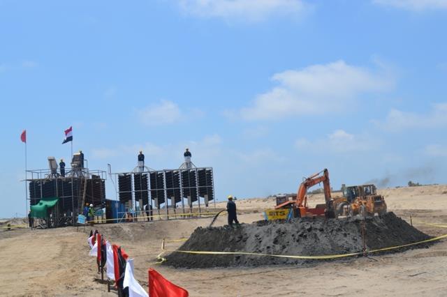 مصنع استخلاص المعادن من الرمال السوداء