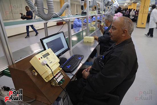 مصنع إنتاج العدادات الذكية