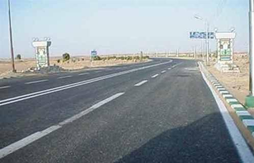 رصف طريق الرياض - طلمبات