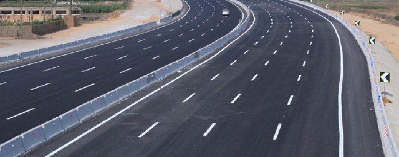 رصف طريق الشط - ميت ابو الكوم القنطرة شرق (مرحلة أولى)