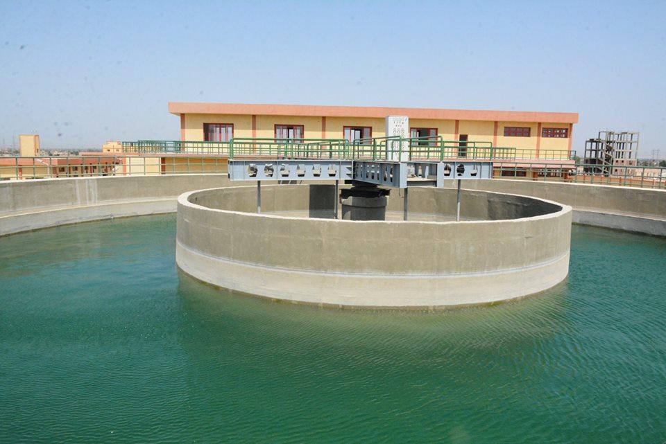 تصميم وتنفيذ المأخذ وخط المياه العكره بمدينة سوهاج
