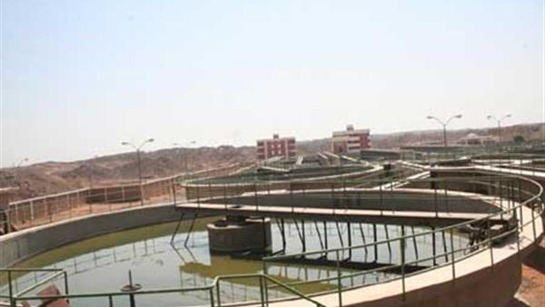 شبكات مياه مركز طهطا